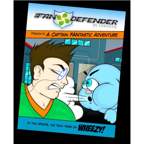 FanDefender Comic